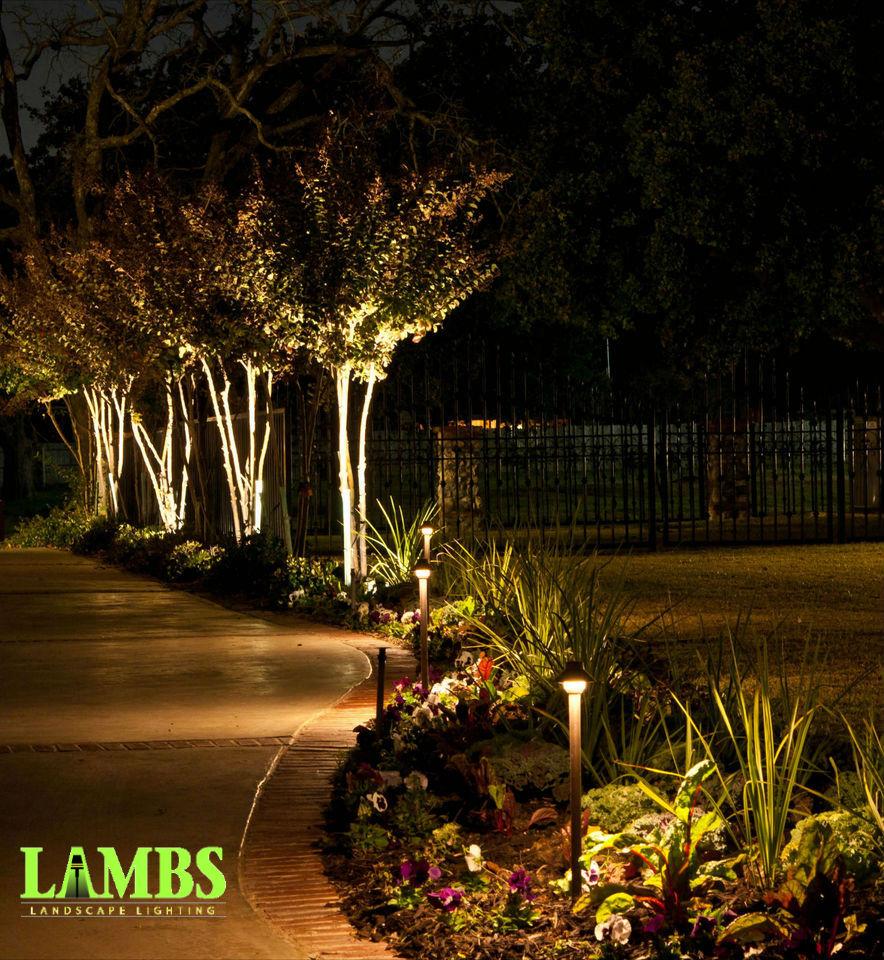 Outdoor Lighting Fort Worth Lambs