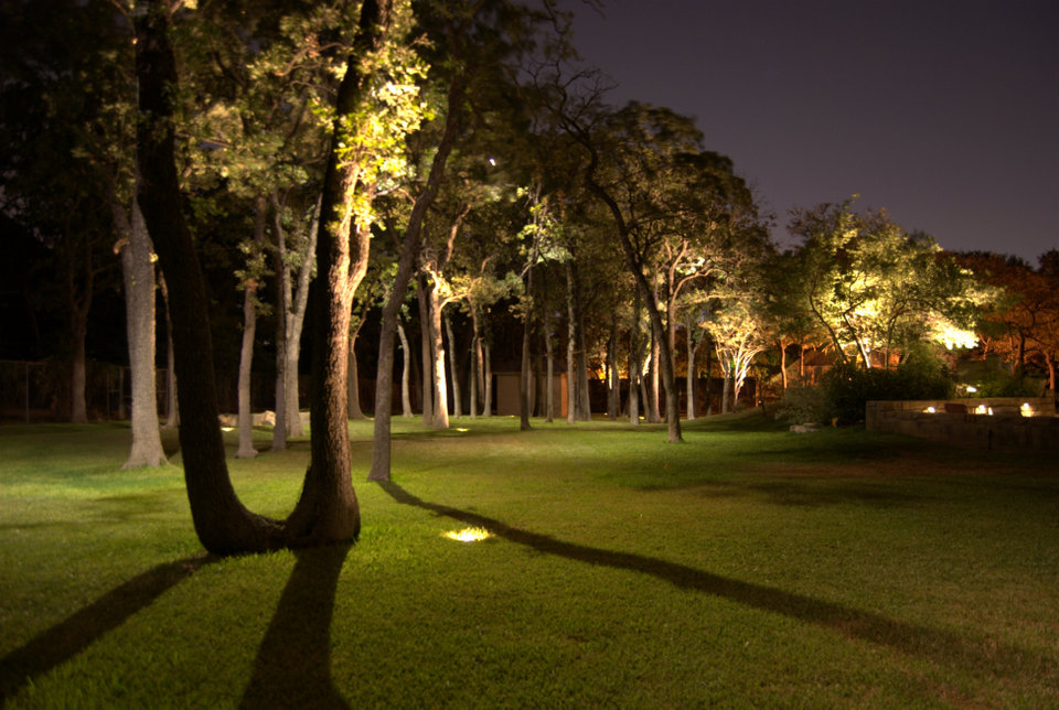Outdoor lighting fort worth lambs landscape lighting security aloadofball Choice Image