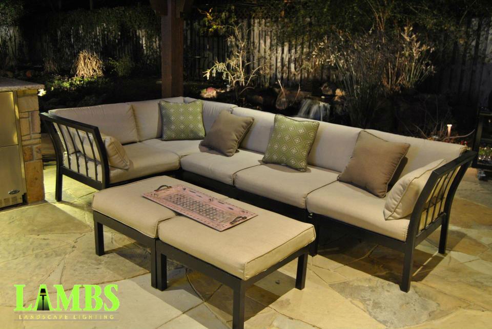 Outdoor Sitting Area Lighting - Downlight