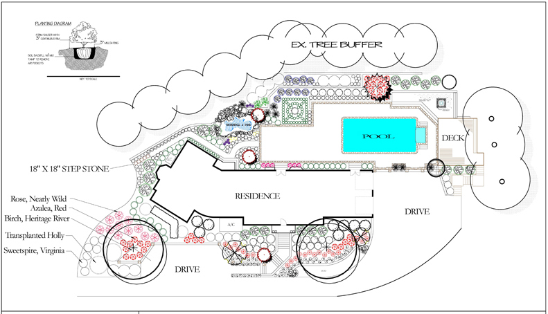 CAD Landscape Design