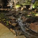 Creek Lighting at Night